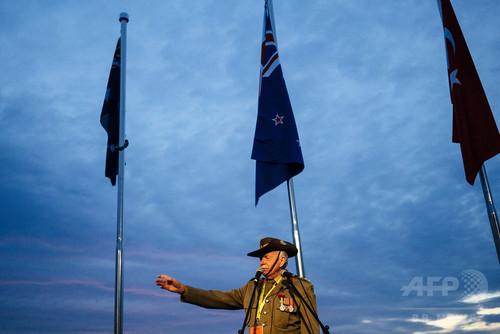国際ニュース:AFPBB News「ガリポリの戦い」から100年、豪・NZ軍団兵士を追悼
