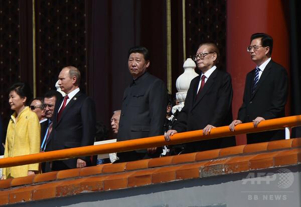 習主席、中国は「日本に完勝」し「主要国」に 抗日70年行事開幕