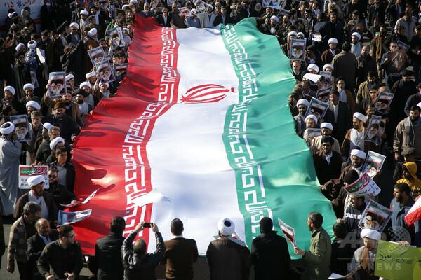 イランが米国を激しく非難、「グロテスク」な内政干渉