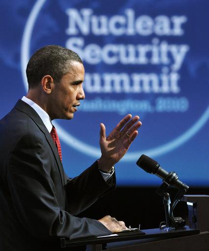 核安保サミット、コミュニケ採択し閉幕 核管理体制の強化など