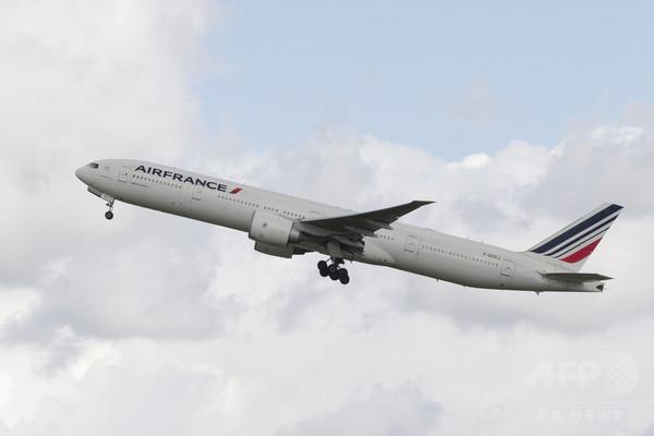 エールフランス機、山への衝突を回避 当局が調査