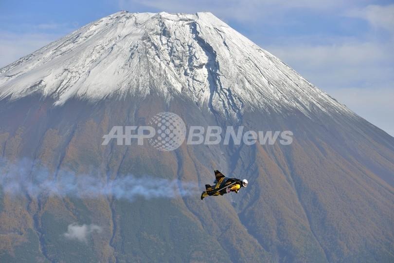 ジェットマン、富士山を飛ぶ