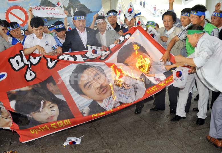 鬱陵島視察計画の自民3議員、韓国空港で入国拒否