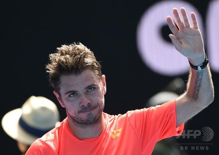 ワウリンカがキャリア通算400勝で16強入り、全豪オープン