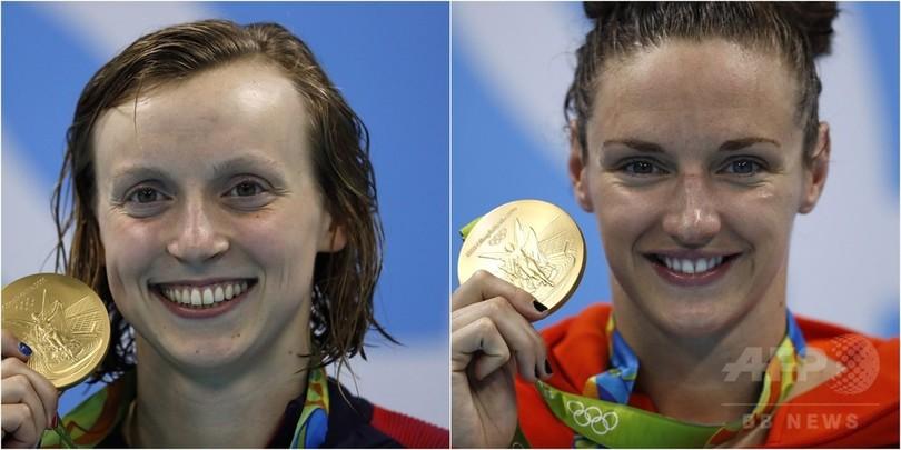 レデッキーとホッスーはこの日も止まらず金獲得、競泳女子