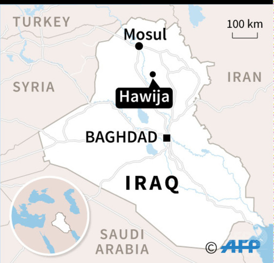 IS、イラク親政府派の民兵組織を奇襲、27人死亡