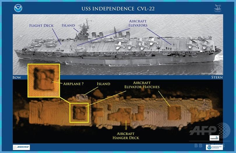 第2次大戦時代の米空母、太平洋...