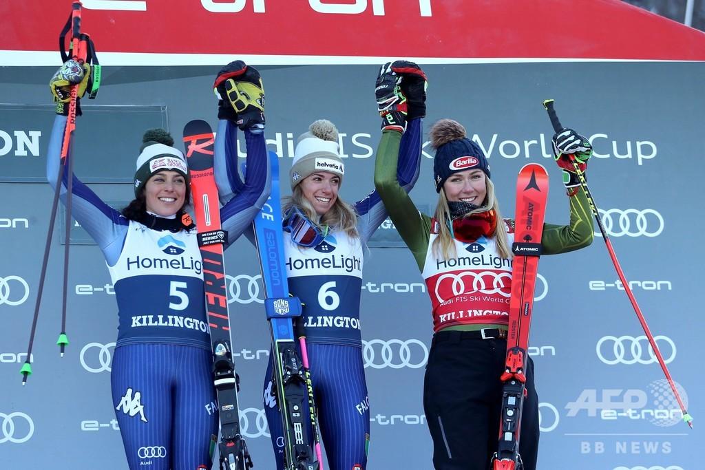 バッシーノが女子大回転でW杯初優勝、ドレッセンは男子滑降で復帰V