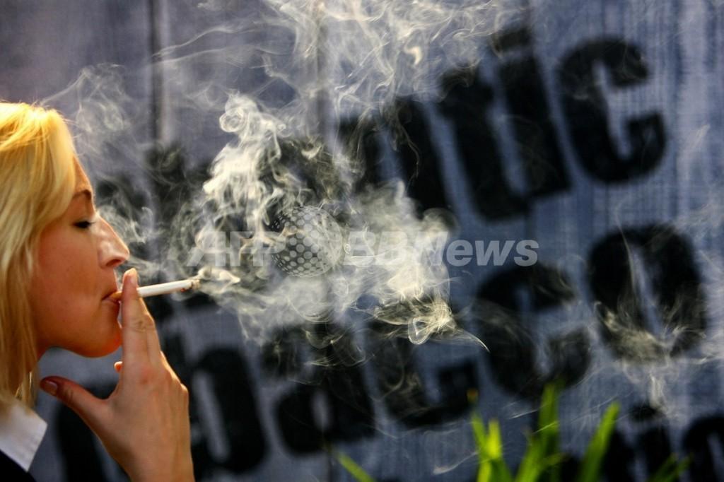 妊娠中のたばこの吸い過ぎ、子どもが犯罪者になる確率高まる