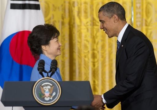 米韓首脳会談、対北譲歩なしで一致