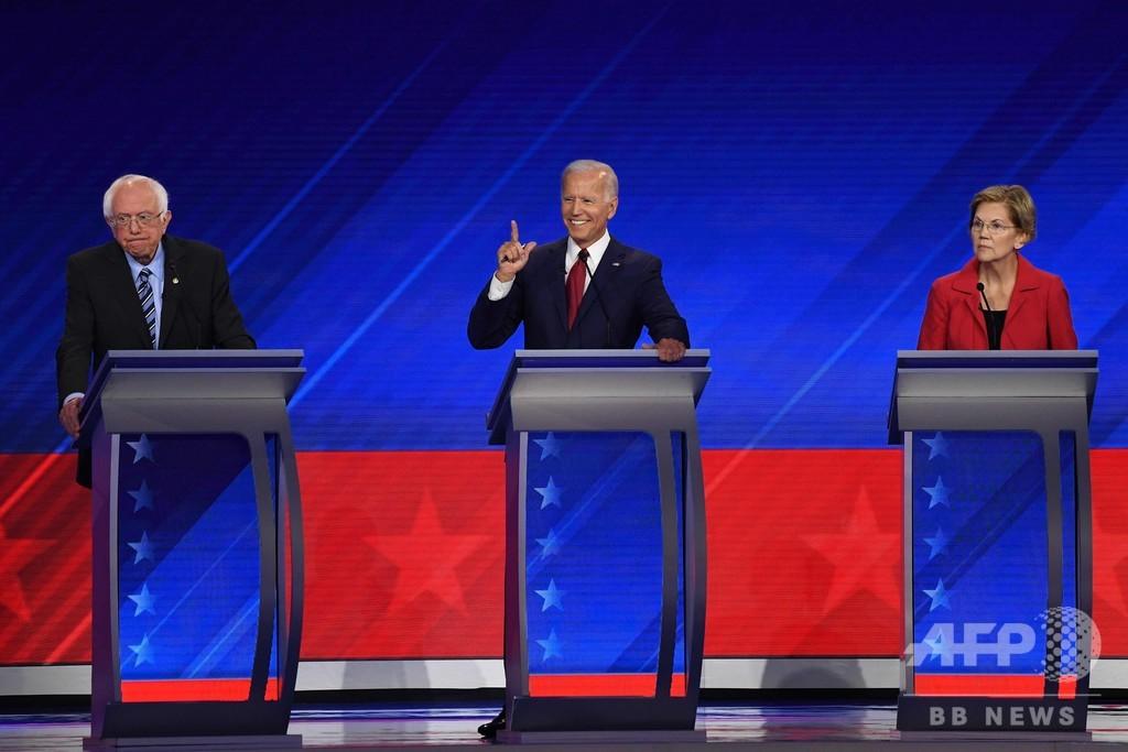 米民主党、3回目討論会 IT実業家候補が「10家族に毎月10万円提供」約束