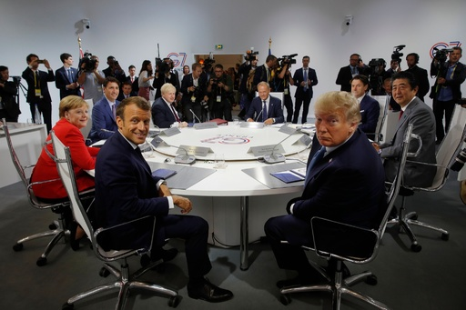 G7首脳、ロシアの復帰は時期尚早との考え 外交筋