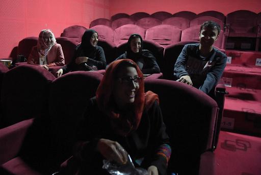 アフガニスタン首都に「家族向け映画館」、市民に一時の安らぎ