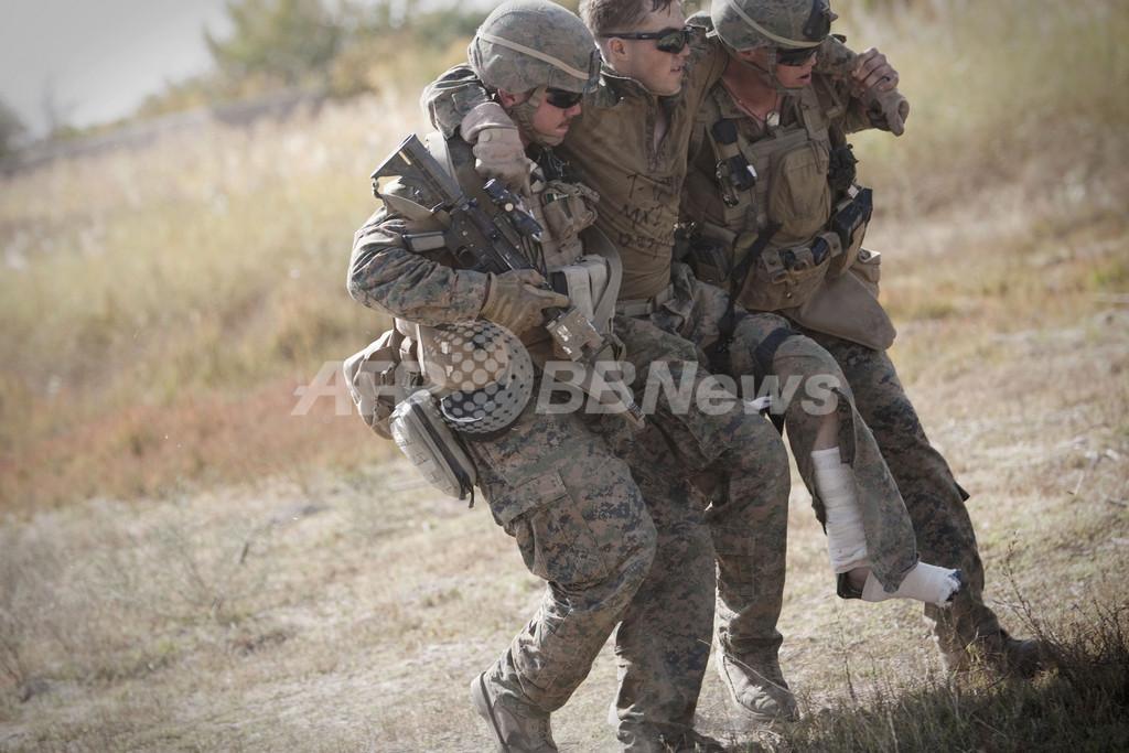 米海兵隊、戦場での痛み止めに鎮痛トローチを導入