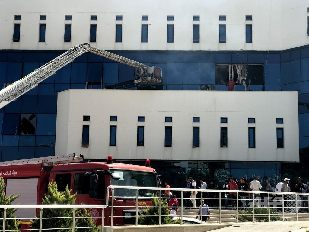 リビア国営石油会社に襲撃、12人死傷 ISの犯行と治安当局
