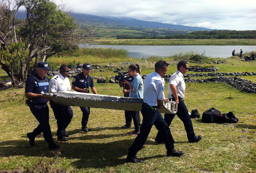 レユニオン島に2つ目の不明機残骸か 住民男性が再び発見