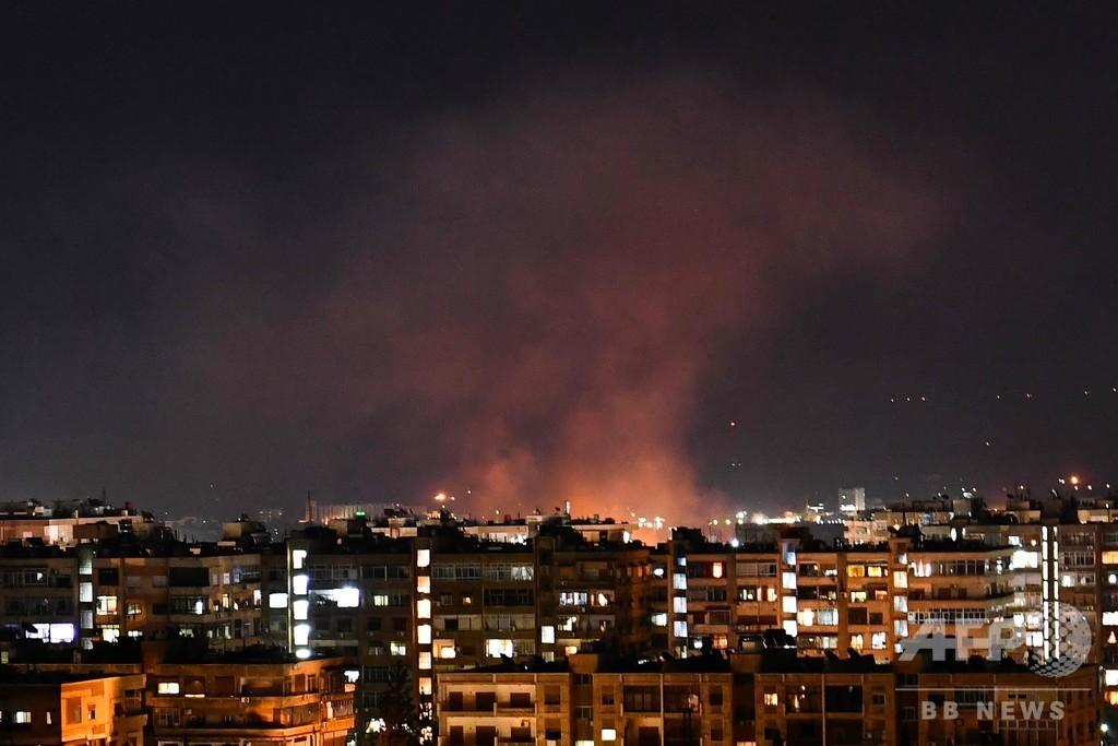 イスラエルがシリアにミサイル攻撃、戦闘員5人死亡 監視団