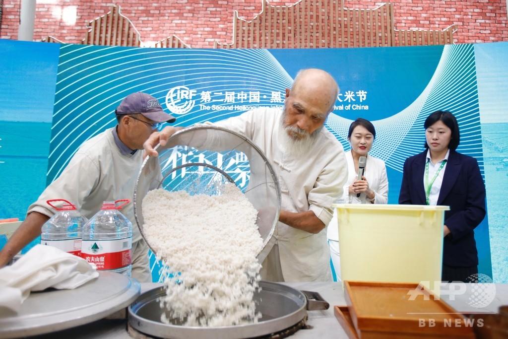 日本の「飯炊き仙人」がハルピン「コメ祭り」に参加、「古来の飯炊き法」を実演