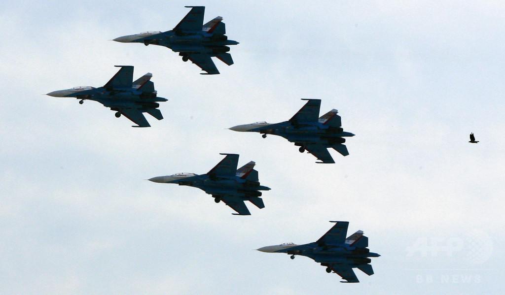 露、シリアに戦闘機・爆撃機28機 無人機も運用