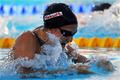 ソニ 100メートル平泳ぎ準決勝で世界記録更新、世界水泳