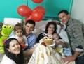 昏睡状態で出産、4か月後に目覚めて息子と初対面 アルゼンチン