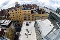 開館間近のホイットニー美術館、報道陣に公開 ニューヨーク