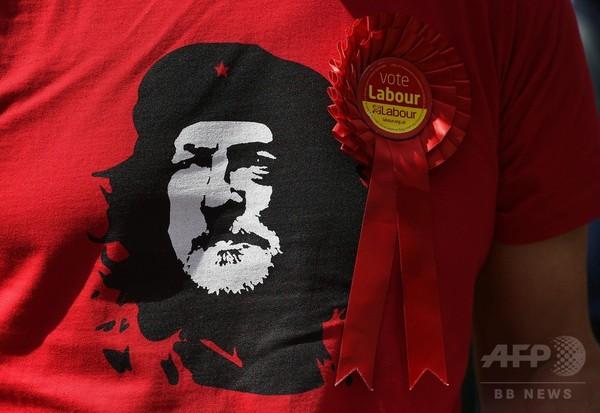 英総選挙、労働党コービン党首をチェ・ゲバラに見立てる支持者も