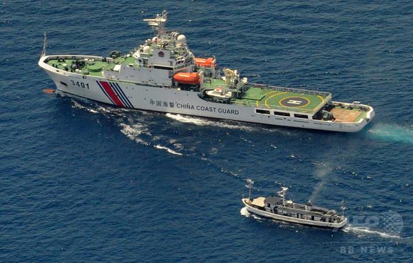 「中国沿岸警備隊が武装強奪」、フィリピン当局が非難