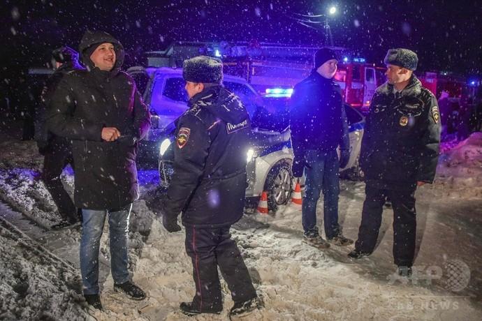 ロ旅客機墜落、71人全員死亡 当局はテロ可能性に言及せず