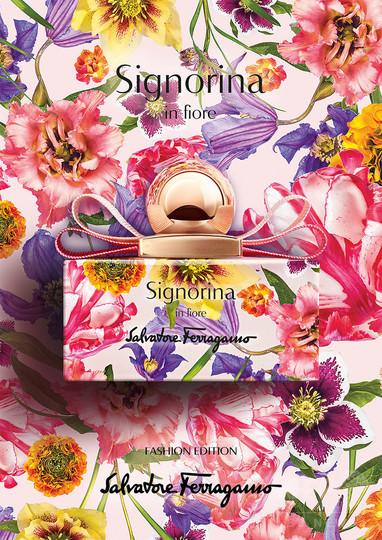 花々が咲き誇る香り「サルヴァトーレ フェラガモ シニョリーナ イン フィオーレ」限定ボトル