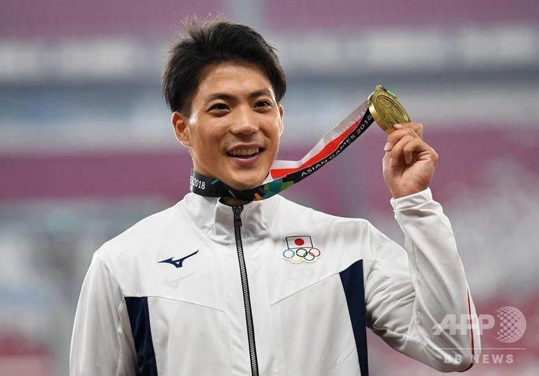 山縣が男子100mで銅メダル、優勝は蘇炳添 アジア大会