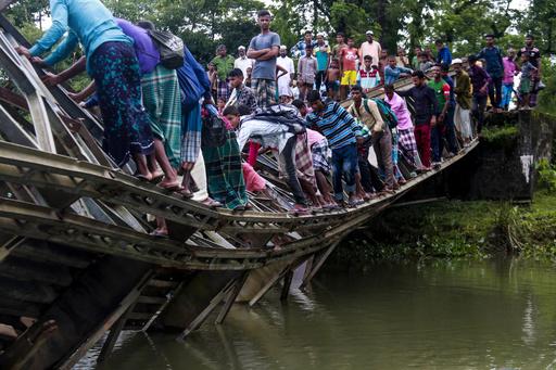 【今日の1枚】暮らしに不可欠な橋