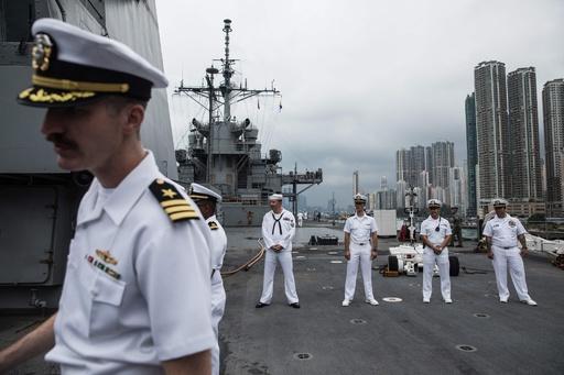 中国、米香港人権法に報復 軍艦寄港一時中止やNGOに制裁