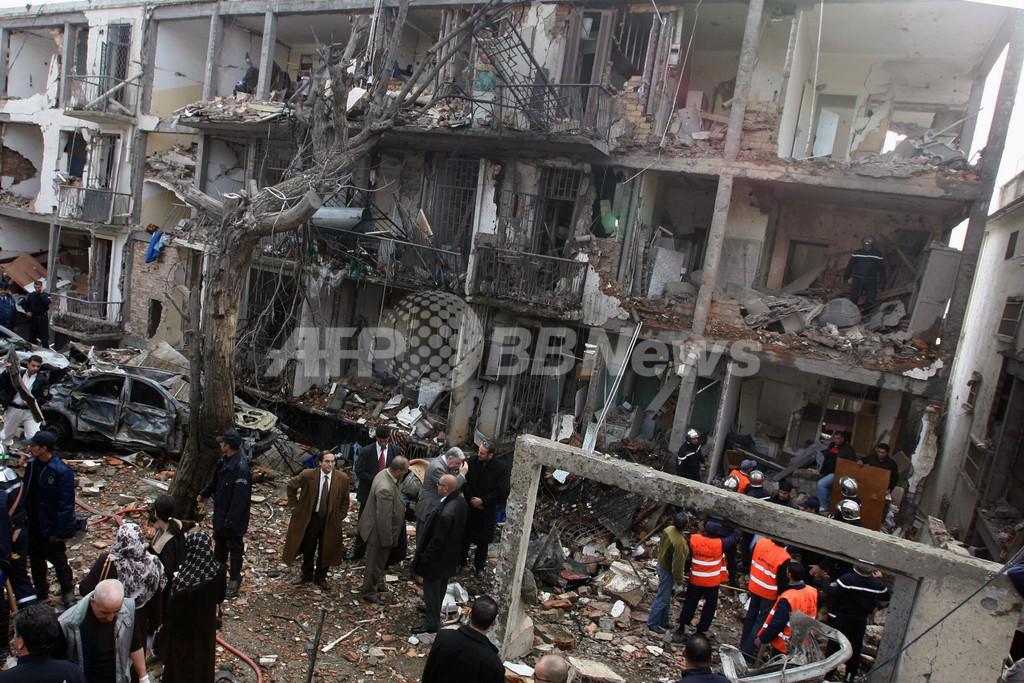昨年のアルジェリアUNHCR事務所自爆テロで5人を起訴