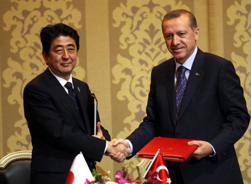 安倍首相、トルコ首相と原子力協定で合意 原発輸出へ