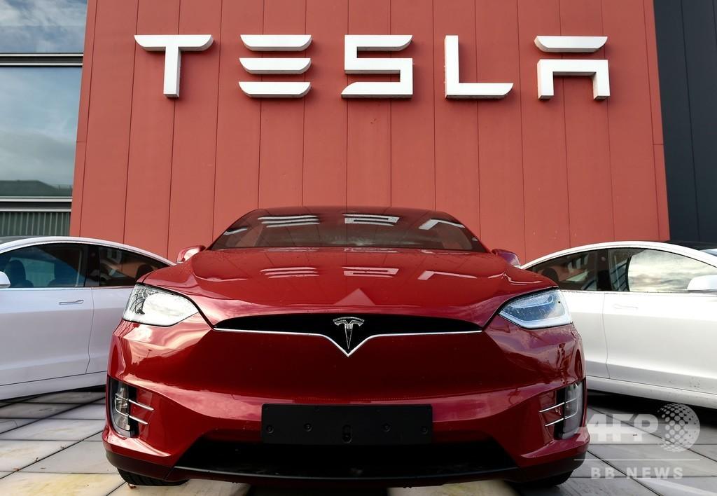 テスラ時価総額、自動車メーカーで世界首位に トヨタ抜く