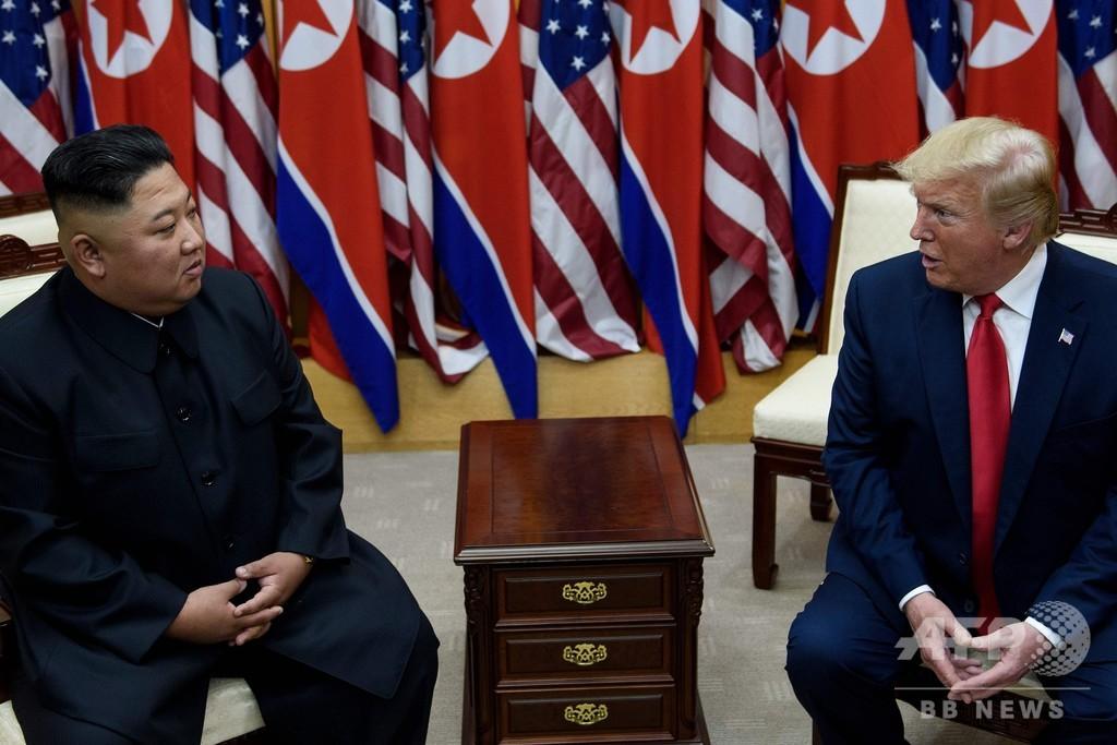 トランプ氏と正恩氏の会談、「歴史的で素晴らしかった」 北朝鮮メディア
