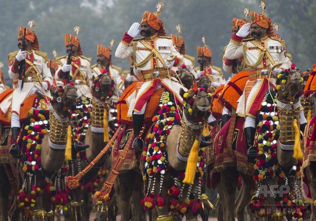 インド共和国記念日パレード、米大統領が初出席