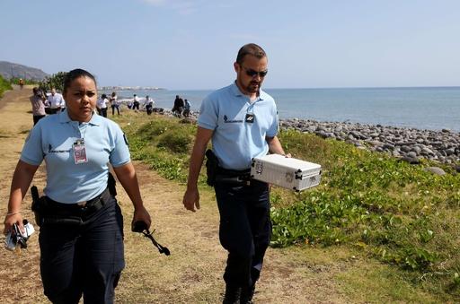 レユニオン島で発見の金属片、航空機とは無関係 調査当局