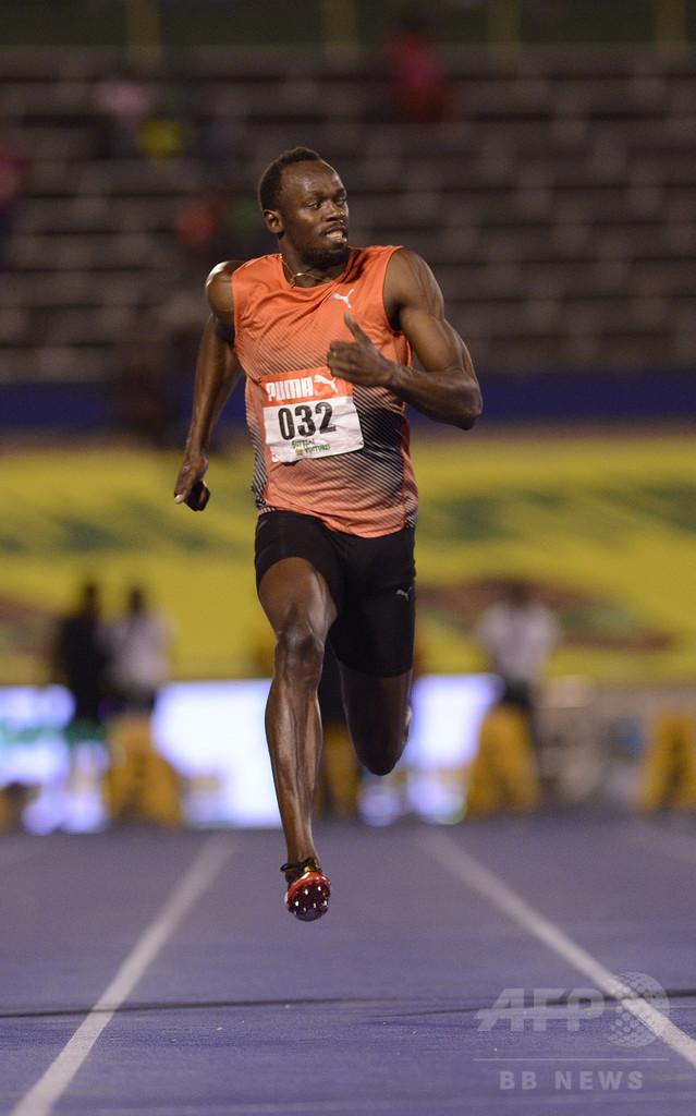 ボルトは軽傷も五輪に不安、代表選考会で100m決勝を棄権