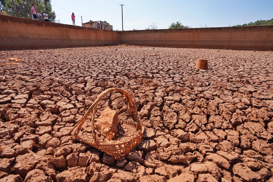 中国・雲南省、干ばつで100万人以上被害