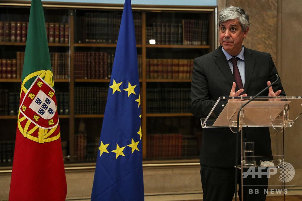 EU経済は「戦争同然」の状況、ユーロ圏財務相会合議長が指摘