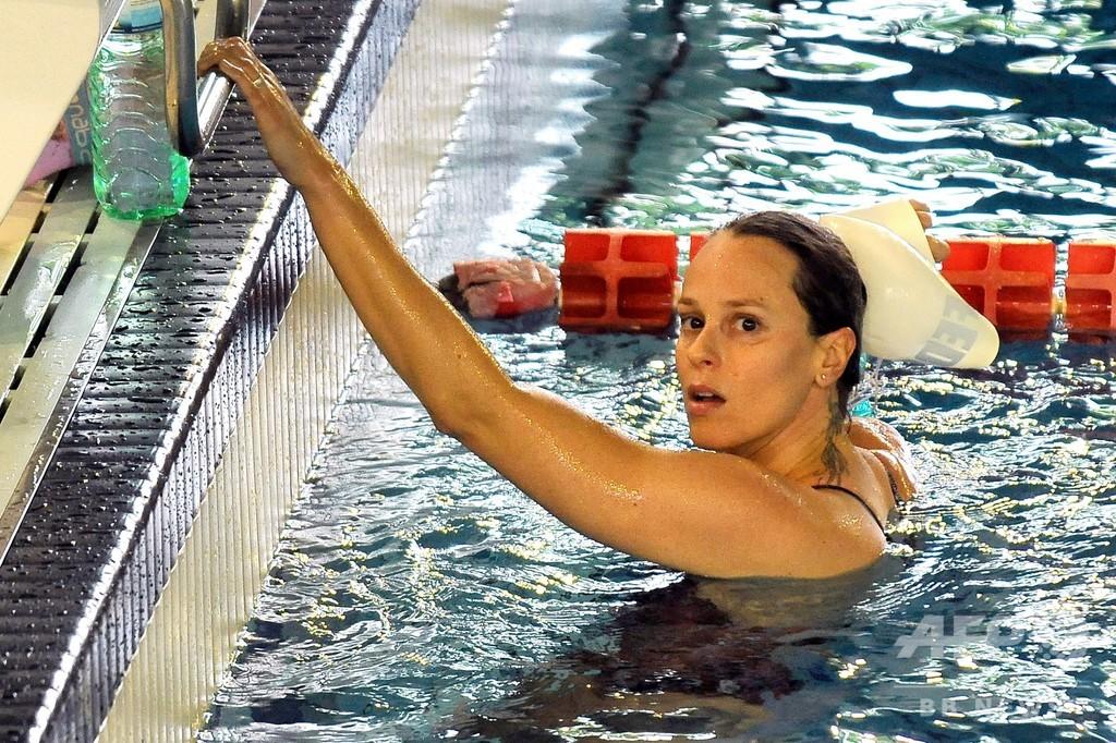 競泳女子ペレグリニが新型コロナ陽性、五輪金メダリスト