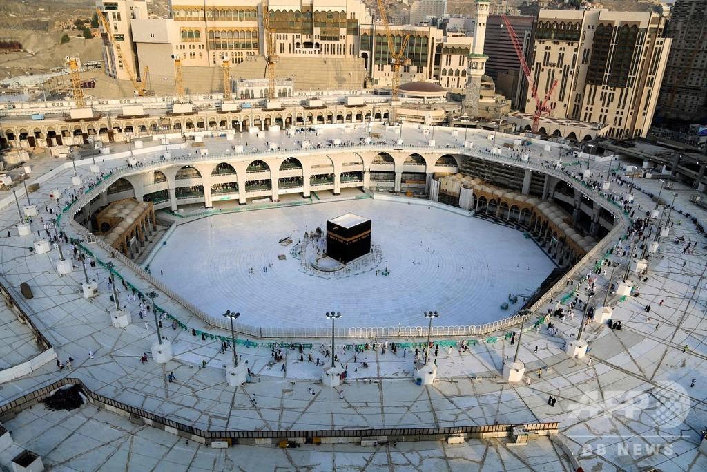 中東各地で金曜礼拝、新型ウイルス懸念で聖地メッカも人影まばらに