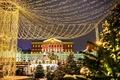 クリスマス間近、モスクワを飾る光のデコレーション