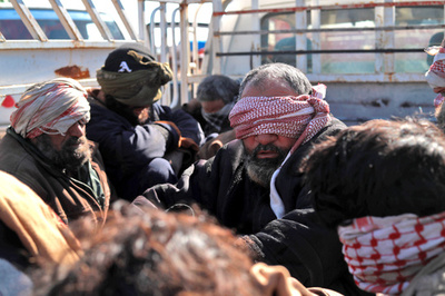 シリアで拘束のIS戦闘員、米が出身国に帰還要請