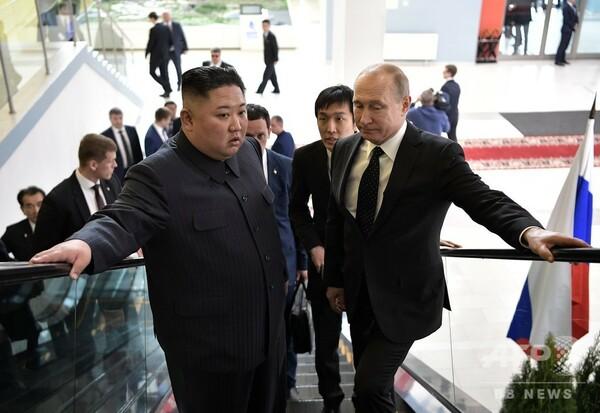 金正恩、ロシア訪問の収穫は「亡命ルート」の確認か