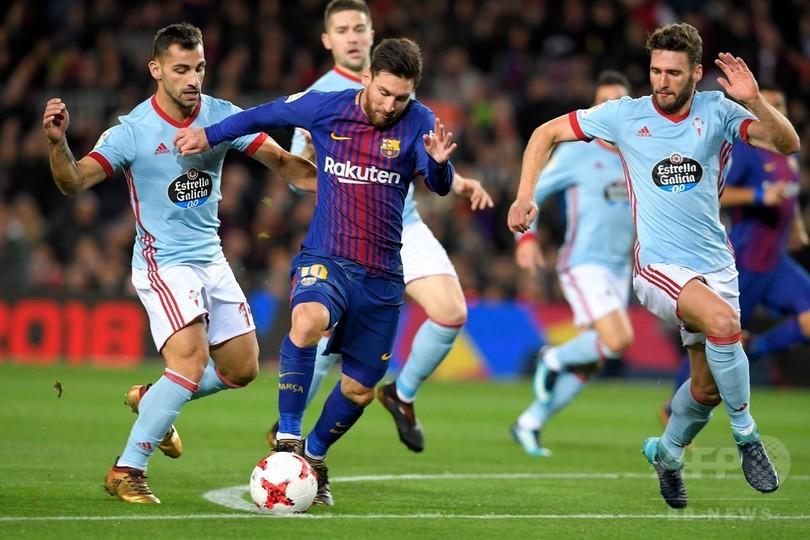 バルセロナが国王杯8強入り、コウチーニョの前で5発快勝