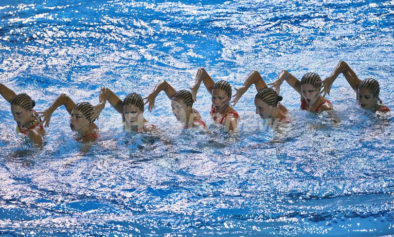 第12回世界水泳選手権>シンクロ...