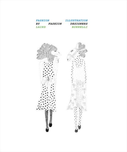 ファッションデザイナー50人のオリジナルスケッチ集が刊行